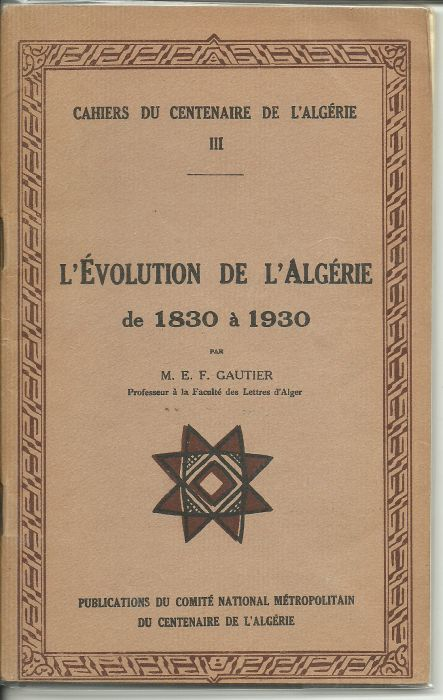 evolution de l`algerie