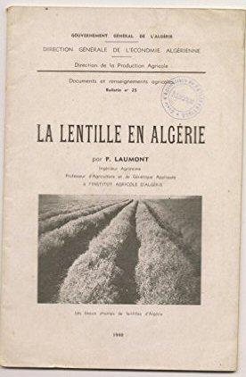 la lentille en algérie