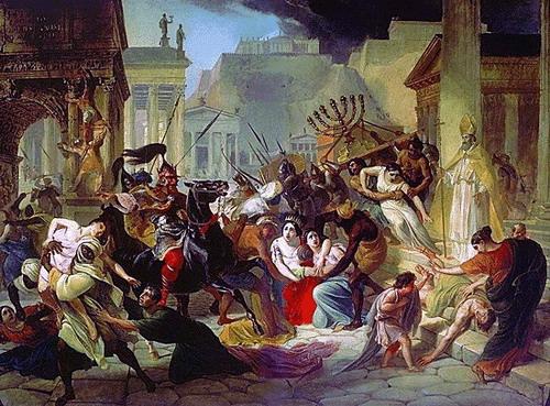 le sac de Rome